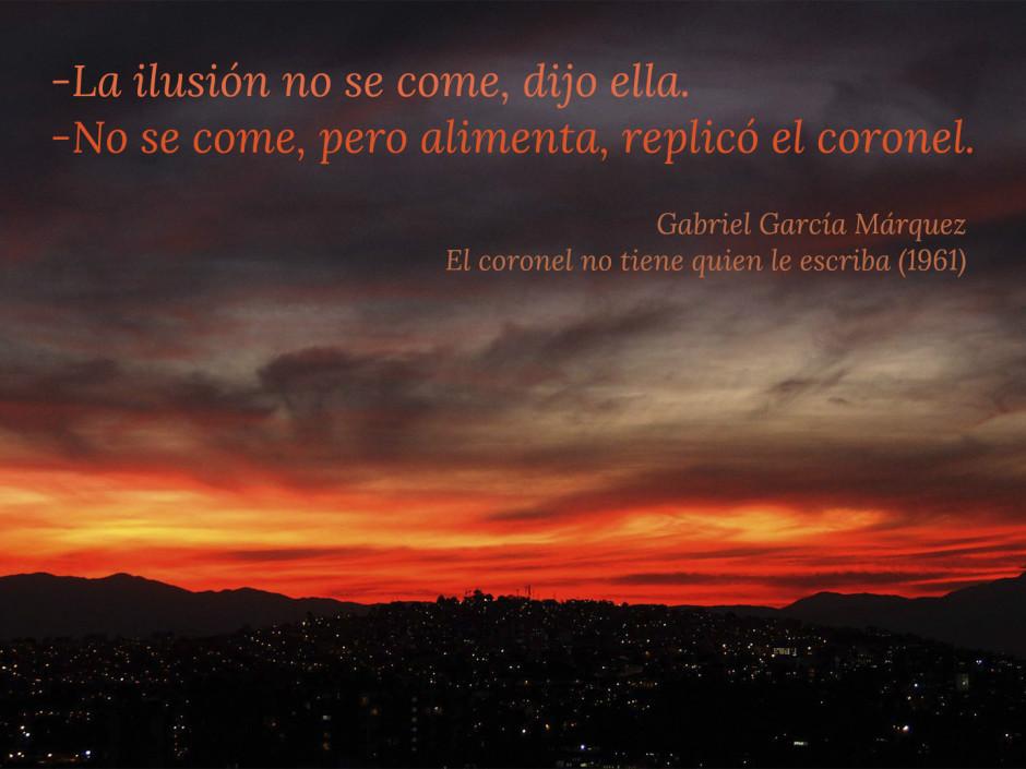 frases de García Márquez, conocimiento de uno mismo