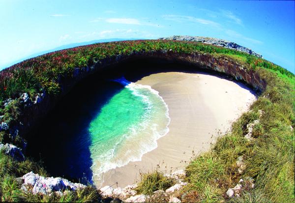 La Playa Escondida como muchos la conocemos. Crédito: Amstar