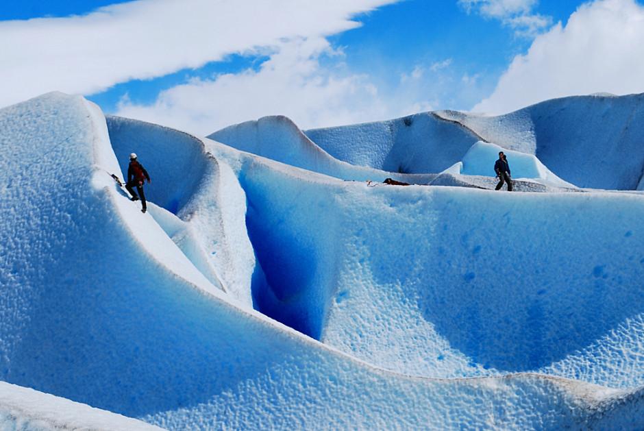 Glaciar Grey, por Davidlohr Bueso