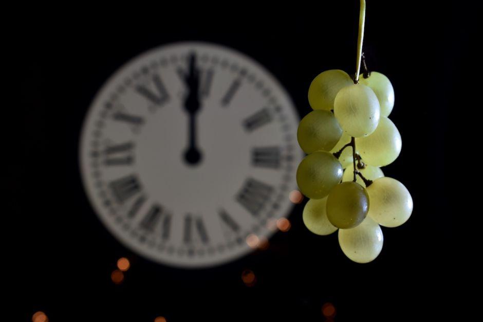 Año nuevo uvas