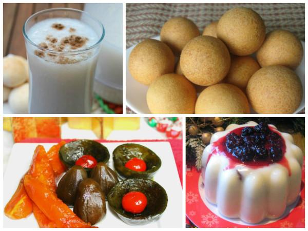 platos de Navidad de los colombianos