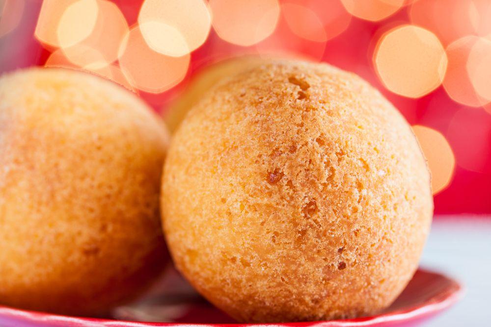 buñuelos colombianos platos de Navidad de los colombianos