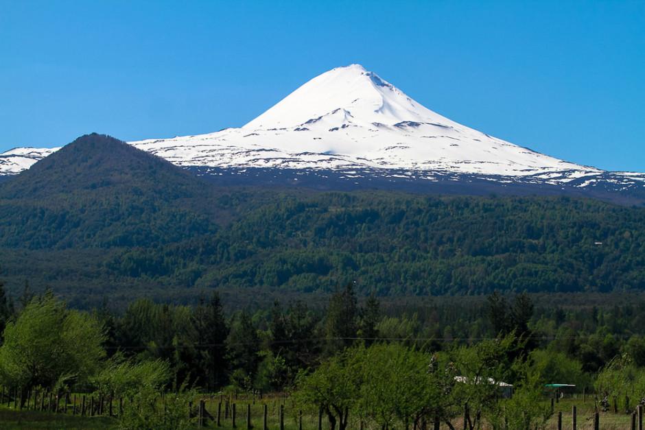 Volcán Llaima. Crédito: