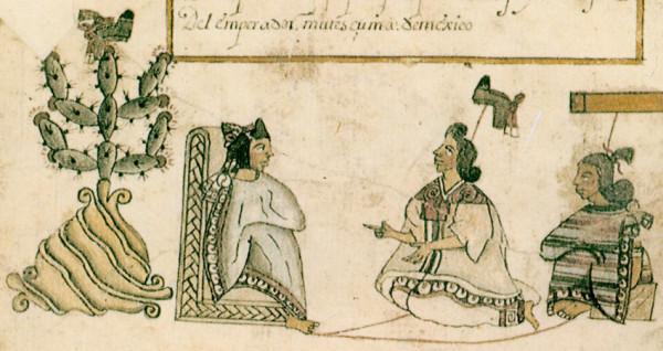 """""""Isabel Moctezuma"""", de Eugenio Aguirre."""
