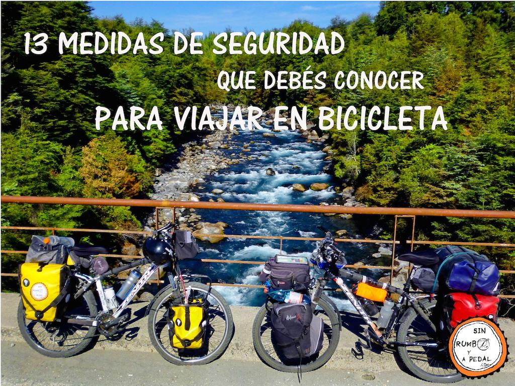 13 Medidas De Seguridad Para Viajar En Bicicleta