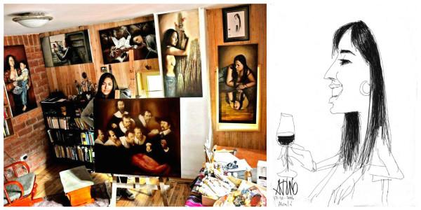 vilma vargas collage