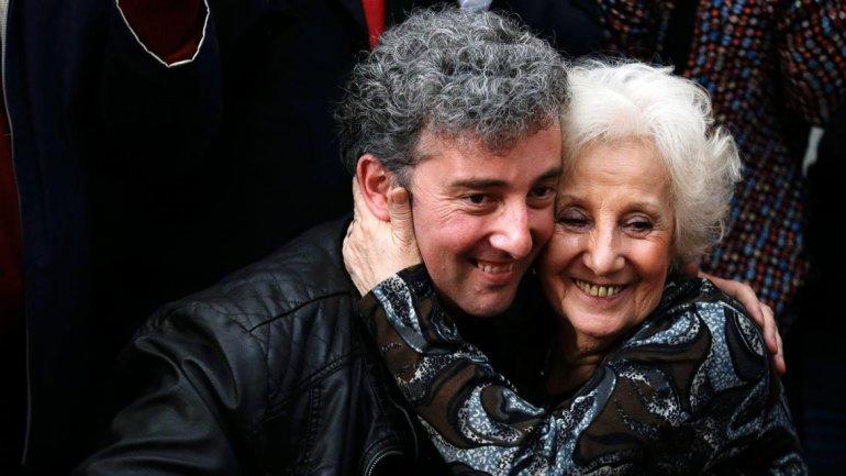 La fundadora de Abuelas, Estela de Carlotto, recuperó a su nieto en 2014