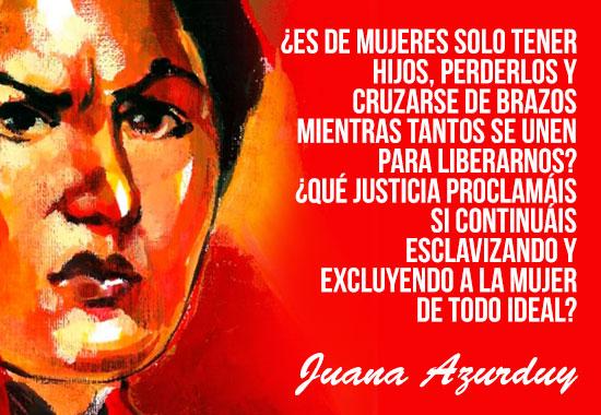 Mujeres Latam juanaazurduy