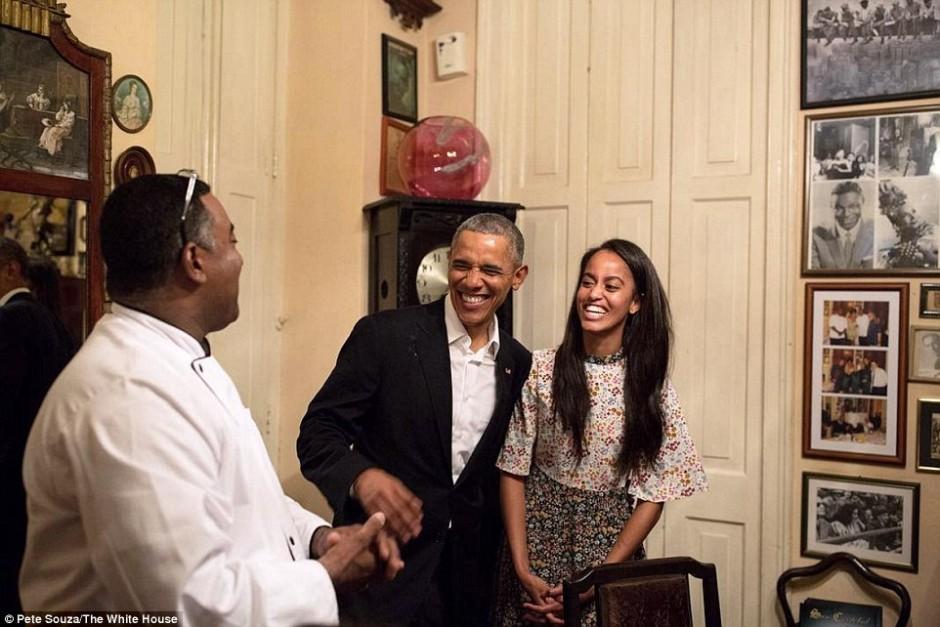 Crédito: Pete Souza, fotógrafo oficial de la Casa Blanca.