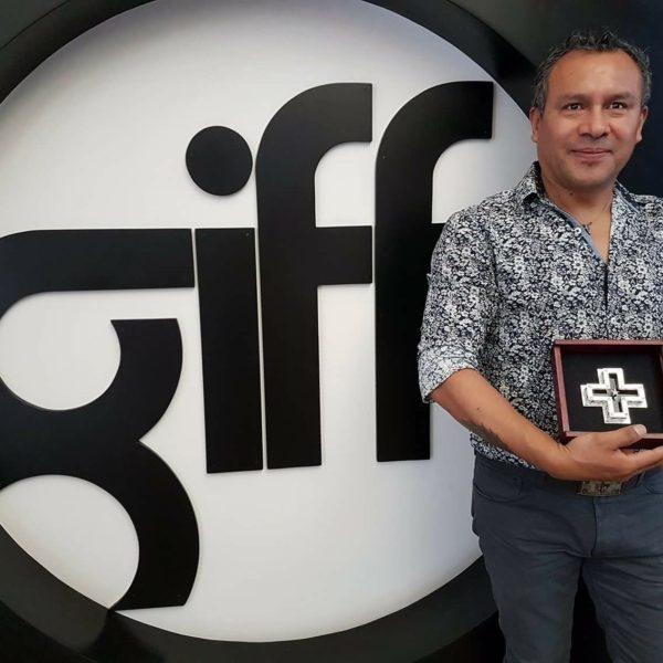 Joyero creador del logo GIFF, Felipe Barbosa