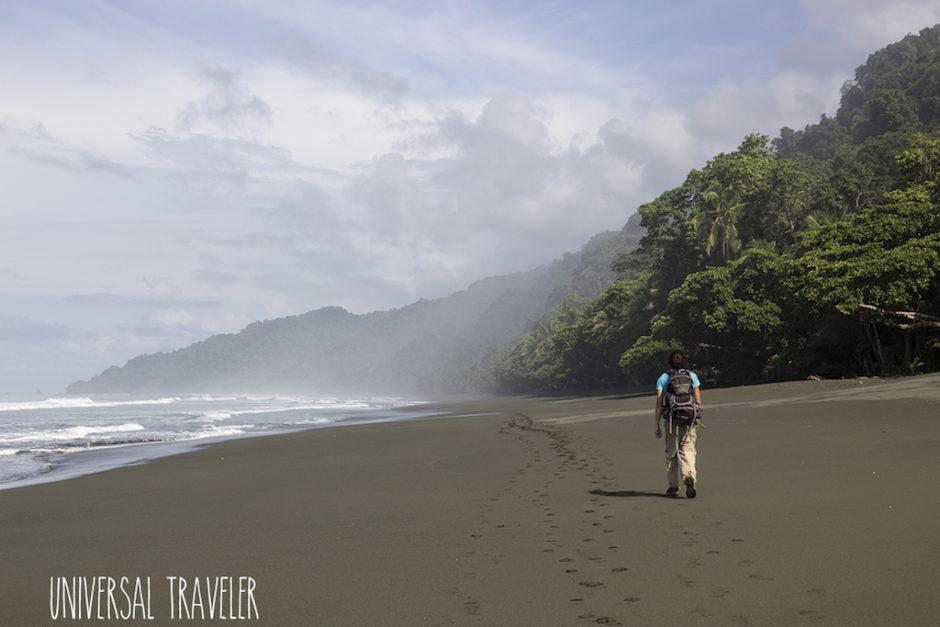 Universal Traveler en Corcovado, Costa Rica