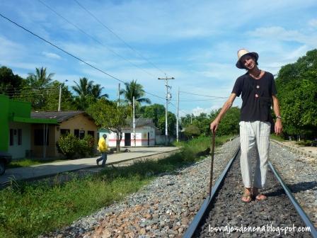 Nosotros, de gitanos por Aracataca. Crédito: Los Viajes de Nena