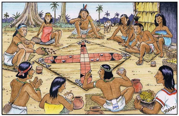 patolli juego de mesa mexica