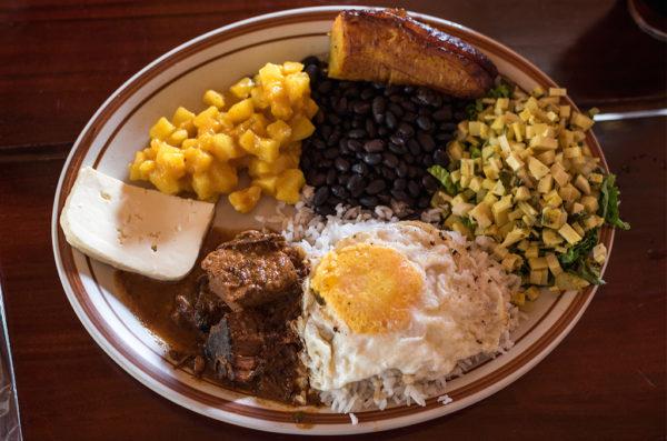 comer en Costa Rica