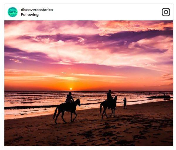 Instagram de Costa Rica