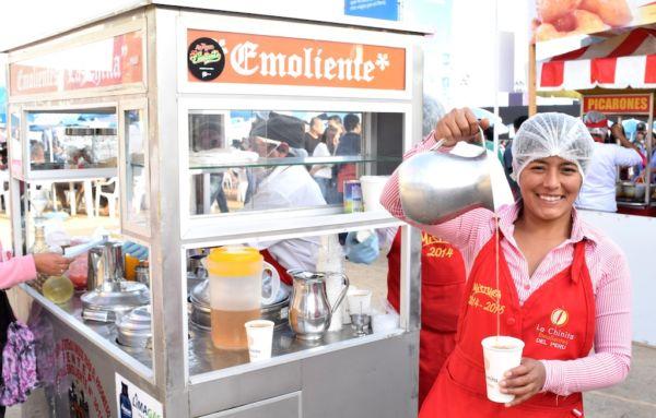 comida callejera de Lima