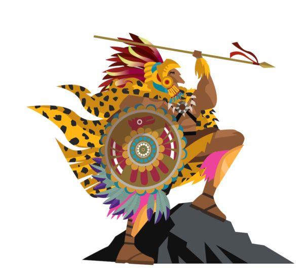 Tlahui-Colotl guerrero tlaxcalteca armas mexicas capitanes del ejército mexica corrupción en el imperio mexica