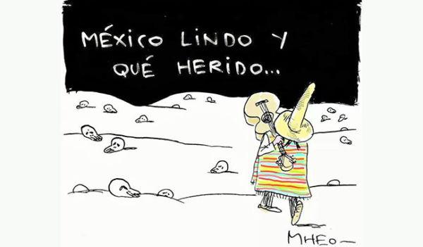 miedo provocado por el terremoto en México