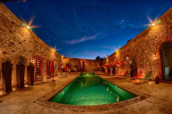 Club Spa Las Minas Mineral de Pozos Guanajuato Mexico