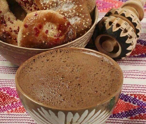 chocolate bebida tipica Dia de Muertos Mexico