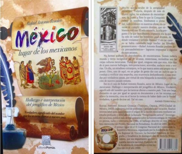 libro México Lugar de los Mexicanos