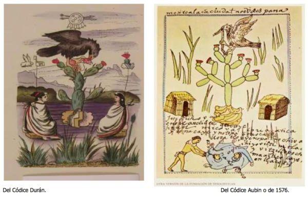 imágenes mexicas menos conocidas que dieron origen al escudo nacional mexicano