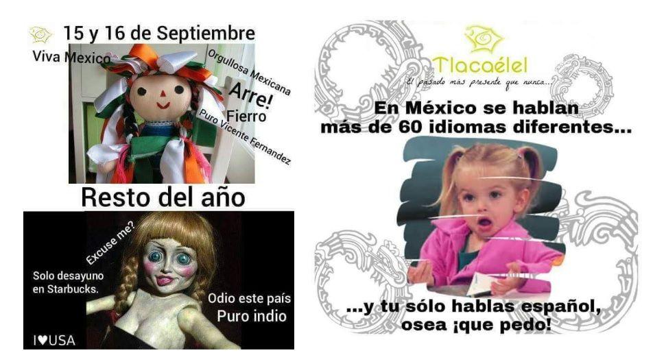N memes que ilustran el choque de los mundos que comenzo el 12 de octubre de 1492