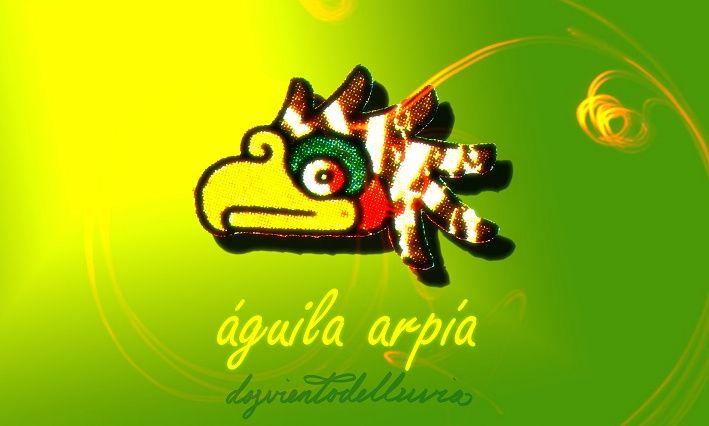 calendario azteca águila arpía