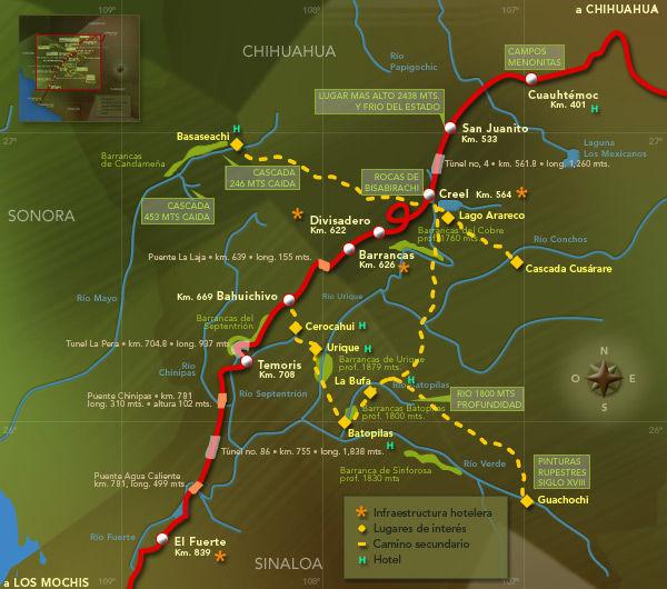 Viajar en El Chepe
