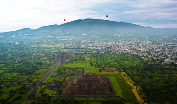 Pirámides más grandes de México