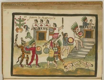cómo era el poder antes de los mexica