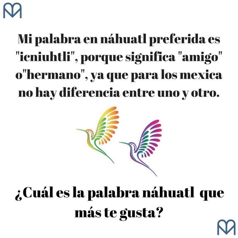 palabras náhuatl sin traducción