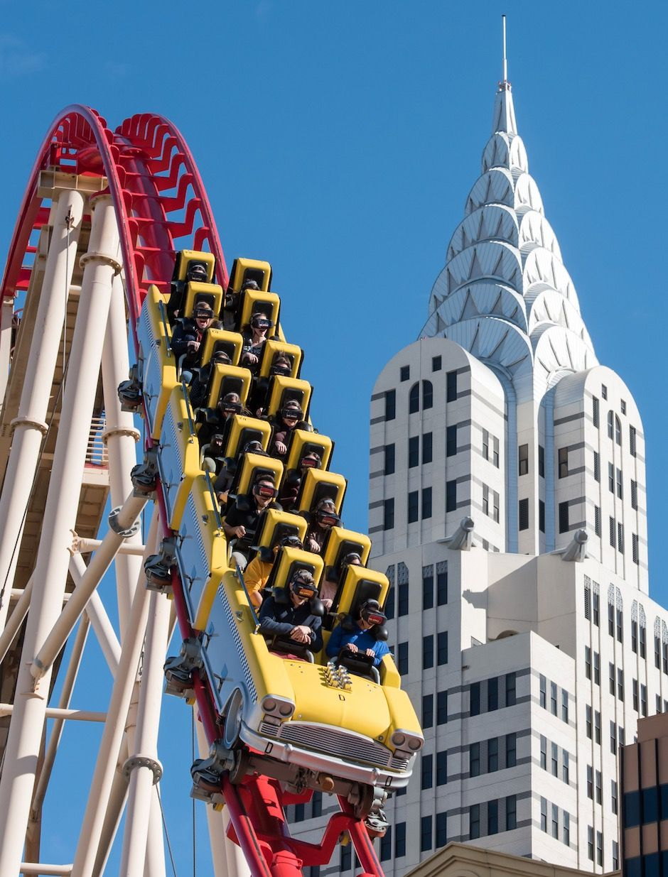 Big Apple Coaster New York Vegas