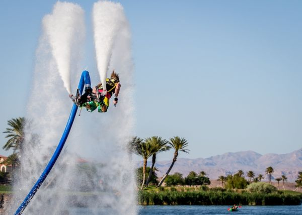 Lake Las Vegas flyboard