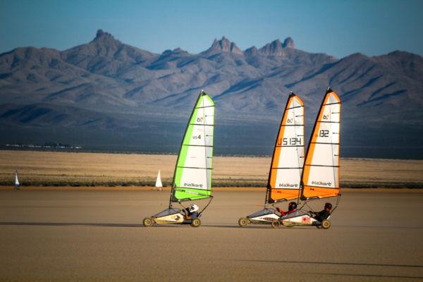 Land Sailing Omega Las Vegas