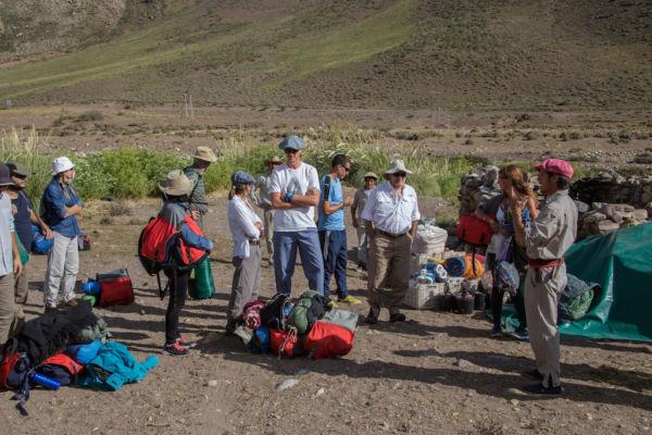 cruzar los Andes charla con guía