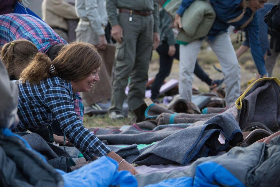 cruzar los Andes armado de camas