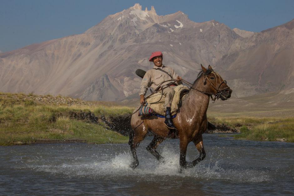 cruzar los Andes cruzar el río