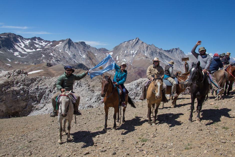 cruzar los Andes a caballo límite con Chile