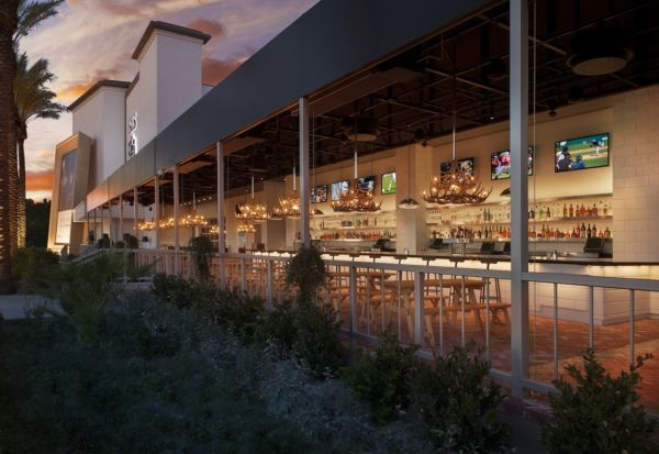 Umami Beer Garden courtesy of SLS Las Vegas Hotel and Casino