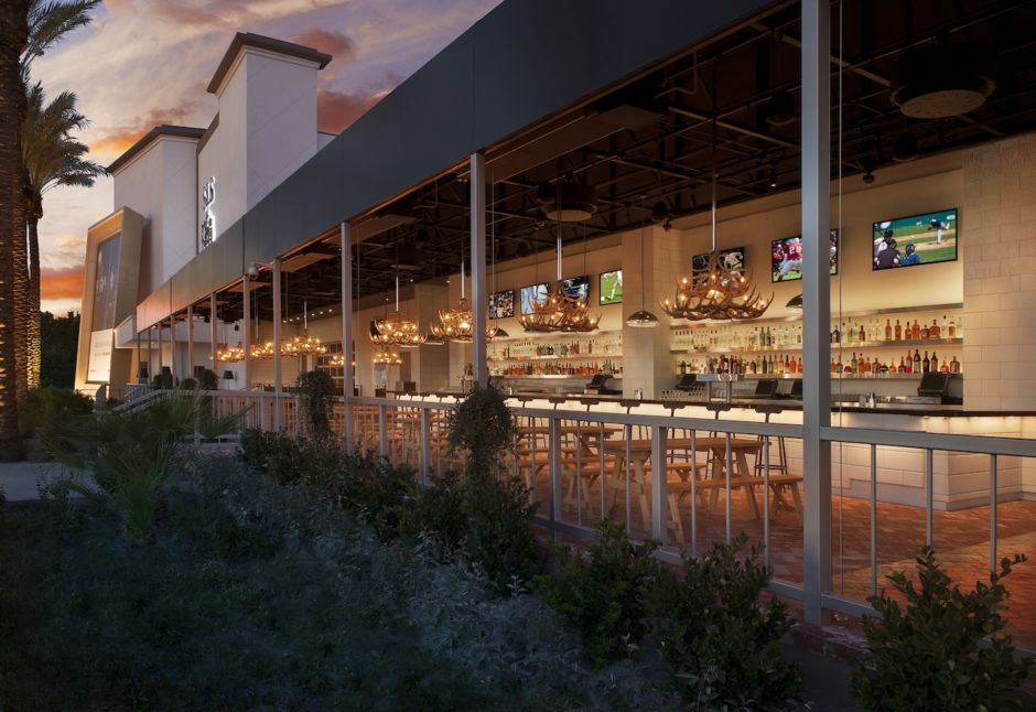 Umami Beer Garden courtesy of SLS Las Vegas Hotel and Casino