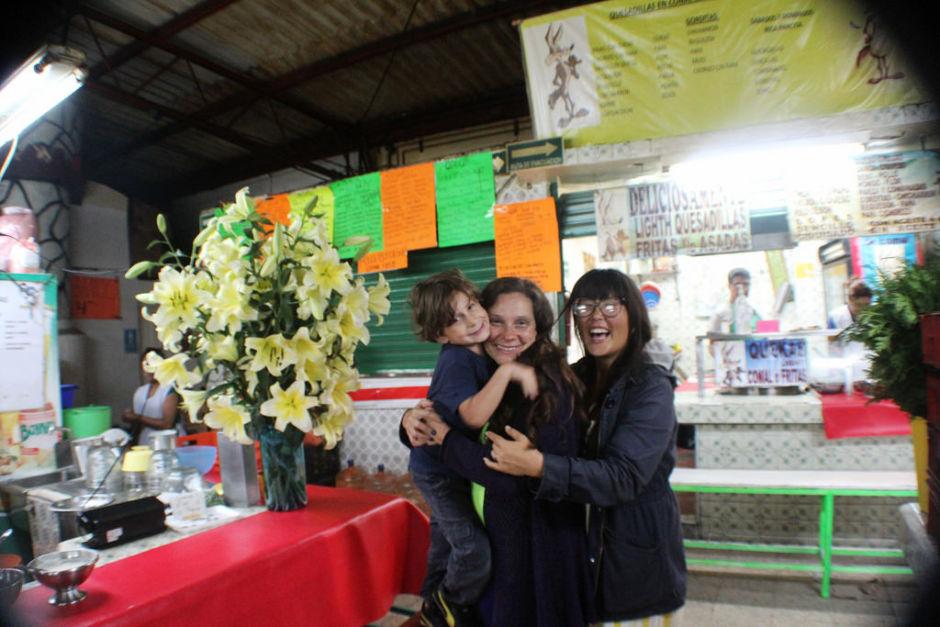 mercado de antojitos de Coyoacán