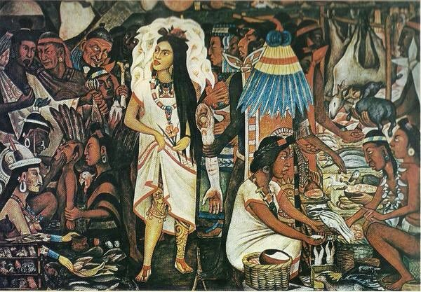 Ahuianime, las prostitutas sagradas de Tenochtitlan