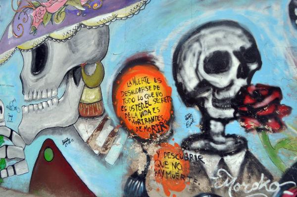 la santa muerte y el culto a la muerte en México