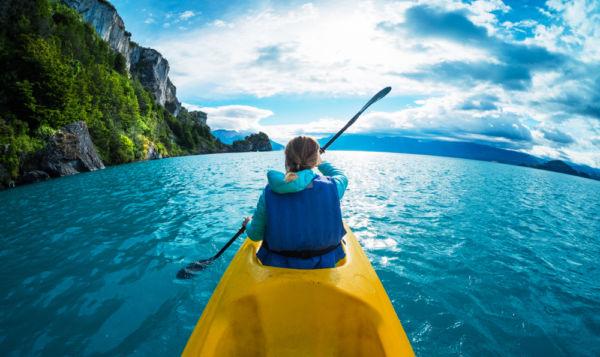 actividades de aventura en chile kayak