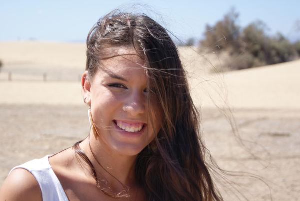 Chica desierto