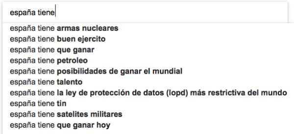 qué tiene España