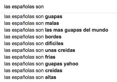 cómo son las españolas