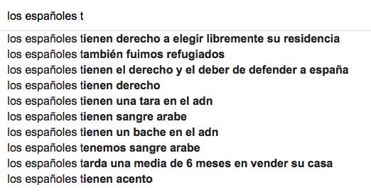 qué tienen los españoles