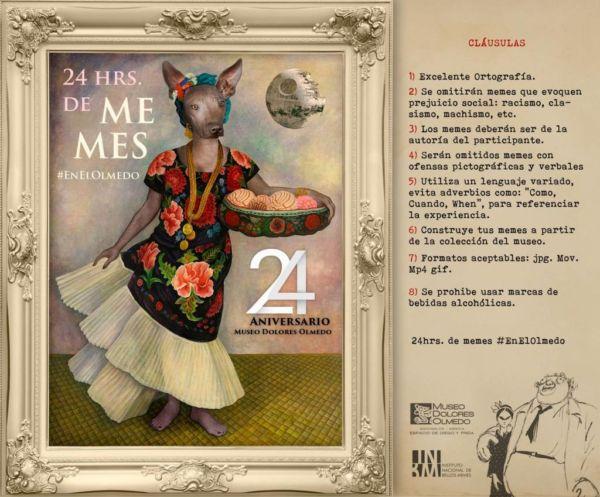 Diviértete festejando el 24 aniversario del Museo Dolores Olmedo.